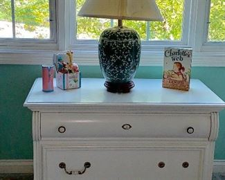 Large Bombay style chest - top opens for storage