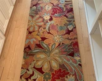 One of three matching runners size 31 inches wide by 98 inches long