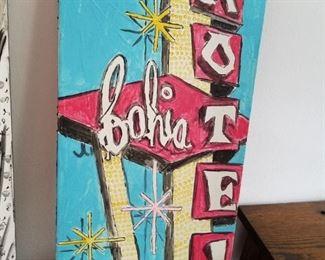 Motel Moracco Original Painting