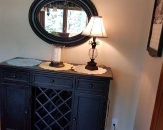 Buffet wine cabinet