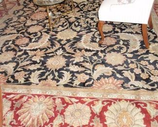 Quality 12' by 14' wool rug $1250