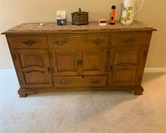 #20		Kling colonia cabinet w 4 drawers and 4 doors 60x20x31	 $125.00