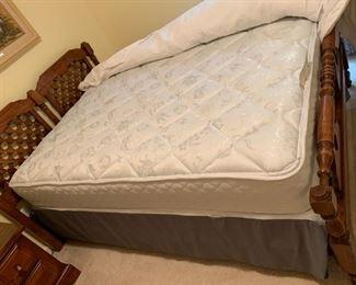 #33full mattress set sealey $75.00