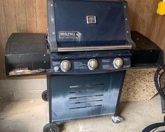 #57BBQ Pro gas grill  $65.00
