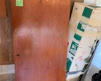 #55locking wall mount cabinet  $40.00