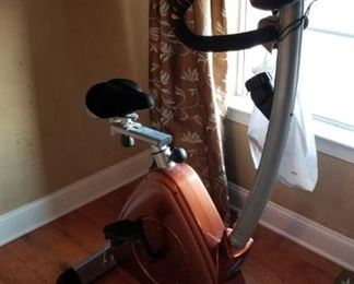 Exercise bike sold