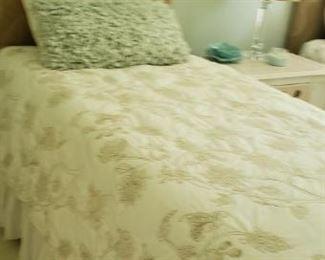 Beautiful twin beds