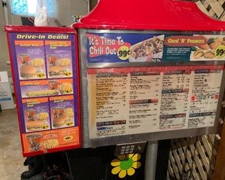 SONIC-Drive-in Menu - this item is AVAILABLE FOR PRE-SALE!!