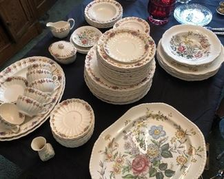 Ironstone porcelain and more