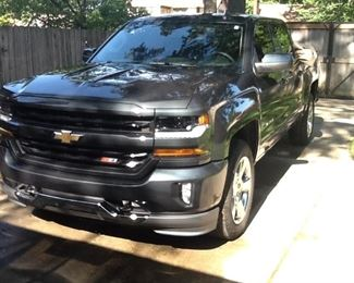 2017 Chevrolet Z71, emaculate condition. Appears to have every option. Always garages. Not a scratch. Have title ready to transfer. 6200, yes, only 6200 miles. $42000.  Cost over $51,000 new.