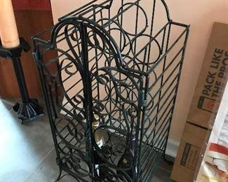 Metal Wine Rack $ 32.00