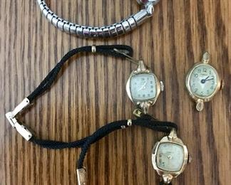 Vintage lady's watches