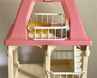 Vintage Little Tikes doll house