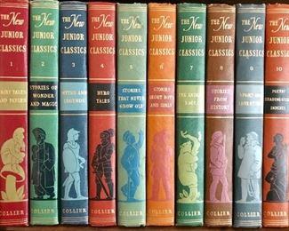 1955 Junior Classics 10 volume set