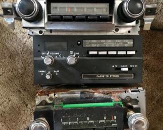 Vintage car radios