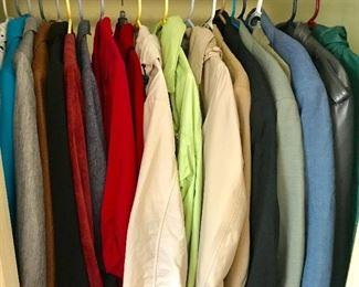 Coats, jackets, blazers