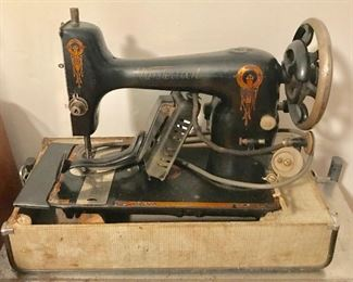 Antique Westinghouse swing arm sewing machine