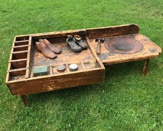 Jt004 Early American Cobblers Bench