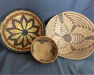 002 Native American Baskets