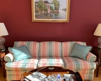 Couch & 2 End Tables