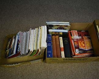 MAGAZINES, BOOKS
