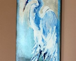 WHITE EGRET ART