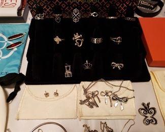 Brighton Handmade Navajo Jewelry James Avery Kate Spade Konstantino Silpada Sterling Silver Tory Burch