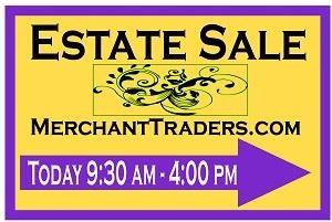 Merchant Traders Estate Sales, Chicago