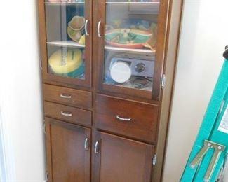 1950's Storage Cabinet