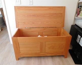 Open View of Blanket Chest
