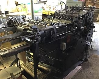 Little giant Job cylinder press