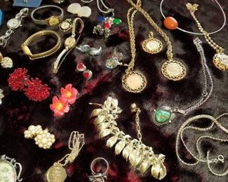 Womens Costume Jewelry (some sterling)