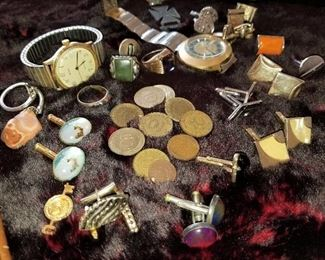 Mens Cuff Links and Rings