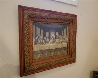 Last Supper of Christ Art (Vintage)