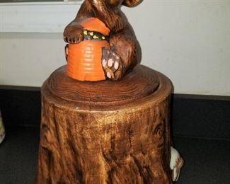 American Pottery Cookie Jar