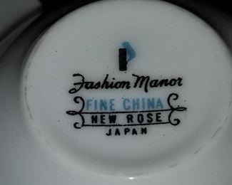 Fashion Manor New Rose China (Japan)