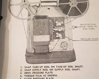 8 mm Projector Instructions
