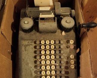 Vintage Adding Machine (1960's)
