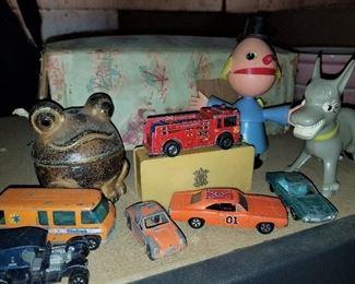 Vintage Metal Toy Cars