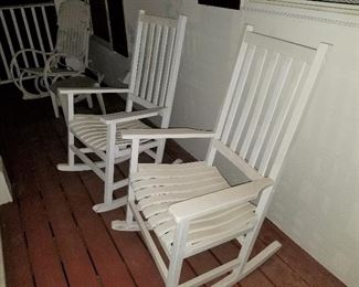 Wood Rocking Chairs for Patio