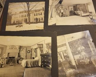Antique Photos from Windsor Mansion in Upper state New York