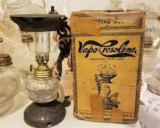 Vapo-Cresolene Lamp (Beginning in 1879)