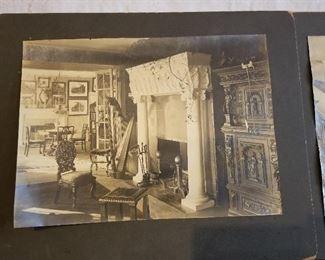 Antique Photos of Windsor Mansion Upper state New York
