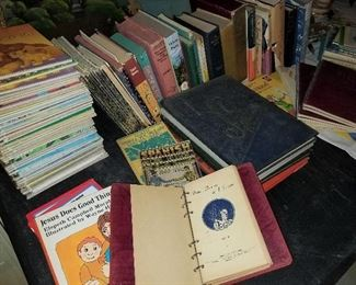 Vintage Kids Books & More