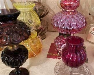 Miniature Oil Lamps