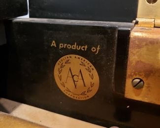 Another label on piano