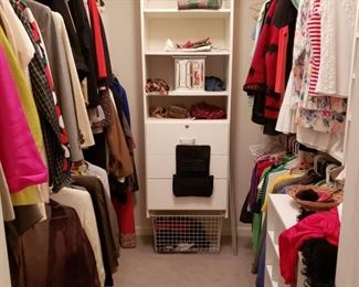 Another closet of ladies clothing