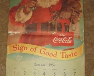 Calendar goes from Dec. 1957 to 1958