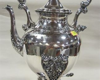 SILVER PLATED TILTING TEAPOT