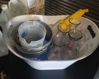 Beer Pitchers, Water Pitchers and Ice Buckets